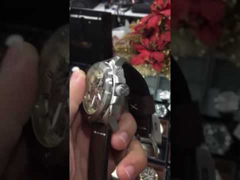 Fossil Modern Machine Automatic Leather Watch  ĐỒNG HỒ CHÍNH HÃNG