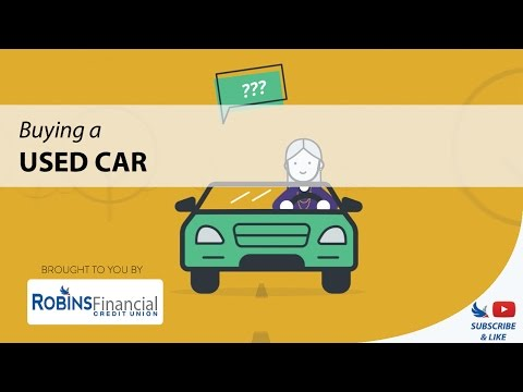 Buying a Used Car: Robins Financial Credit Union