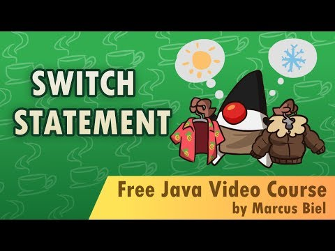 Java for Beginners 12 - switch statement