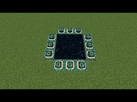 Minecraft 1.12.2:How to make a end portal