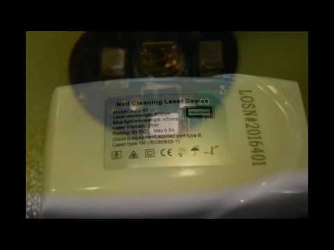 BU Nail Treatment Laser Device