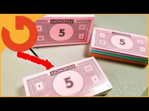 SHOULD I SEND THE LITTLE KIDS MOM MONOPOLY MONEY?!