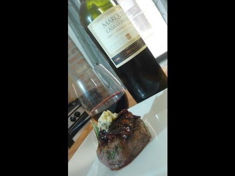 Rosemary Filet with Honey Balsamic Figs