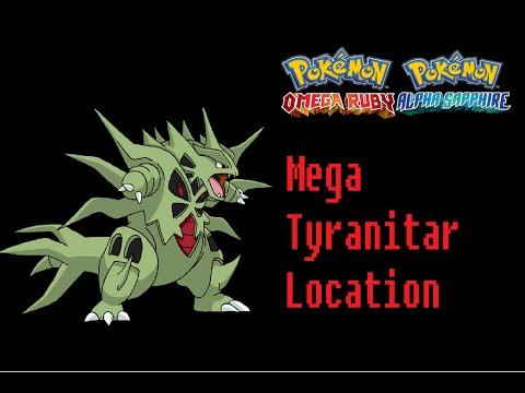 Where To Find Tyranitarite (Mega Tyranitar) Pokemon Omega Ruby Alpha Sapphire Location