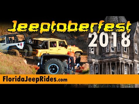 Jeeptoberfest 2018 Jeep a quick walk around  and the viewing areas.