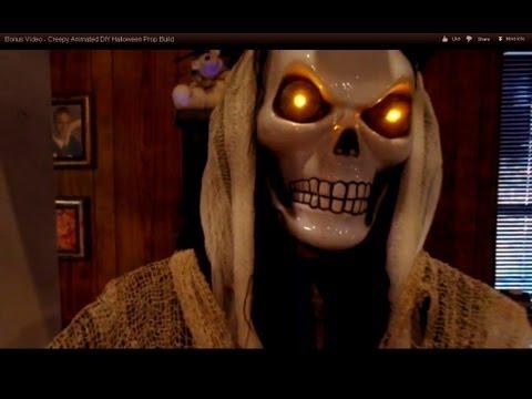 Bonus Video - Creepy Animated DIY Halloween Prop Build