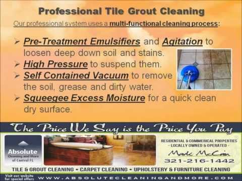 Top Rated Tile and Grout Cleaning Services 321-216-1442 Orlando