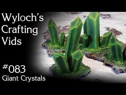 083 - Giant Crystals (Warhammer 40k Necron Terrain)