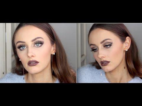 UD Naked Smokey | MAC Stone Lipstick
