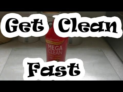 How To Pass Your Pee Test - Mega Clean By Detoxify