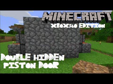 MineCraft: Xbox 360 Edition Double Piston Hidden Door