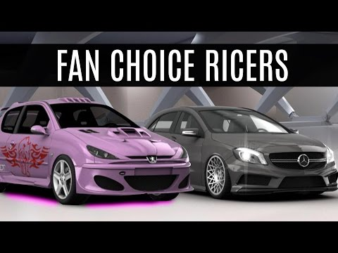 DOWNLOAD:FAN CHOICE RICERS (A45 AMG, Mustang, 206) - 3D Tuning Free