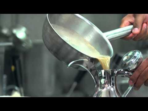 Bateel Signature Qahwa - Arabic Coffee in the making