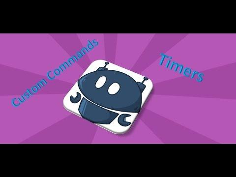 YouTube Nightbot: Custom Command & Timer Setup