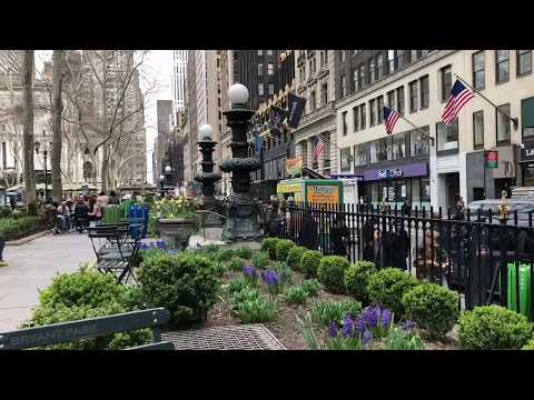 afternoon in Bryant Park, New York (4-24-18)