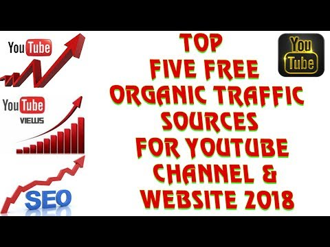Top 5 Free Organic Traffic Sources For Youtube Channel | Now Grow Fast Blog Site Or Website 2018