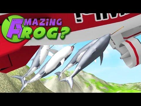 SHARK BLIMP RIDE - Amazing Frog - Part 83 | Pungence