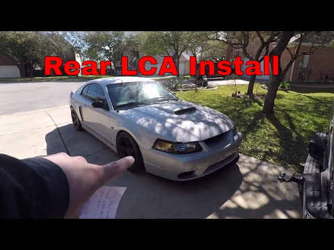99-04 mustang (New Edge) Lower Control Arm install