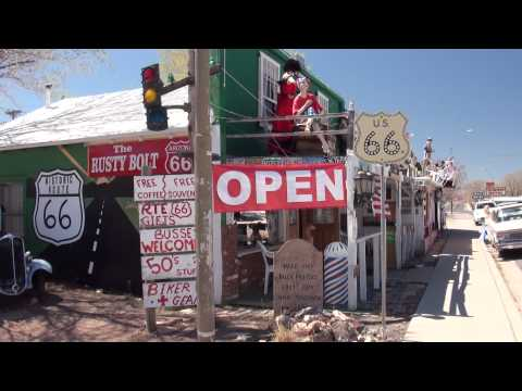 Seligman on Historic ROUTE 66