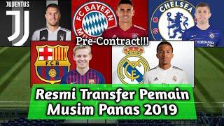 RESMI, Transfer Pemain Yang Pindah Di Musim Panas 2019/2020
