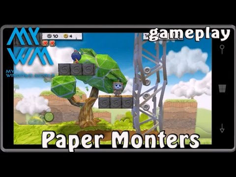 Paper Monsters Gameplay