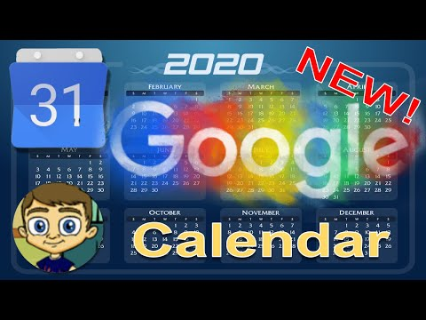 The NEW Google Calendar - 2018 Tutorial