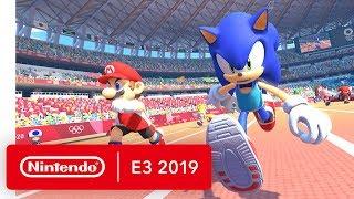 Mario & Sonic at the Olympic Games Tokyo 2020 - Nintendo Switch Trailer - Nintendo E3 2019