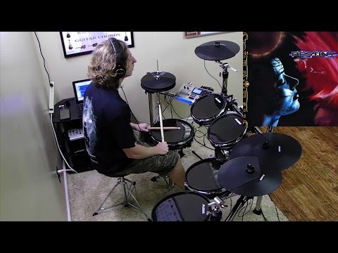 STRATOVARIUS // Anthem of the World // Drum Cover by Christian Carrizales