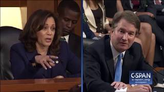Exchange between Sen. Harris and Judge Kavanaugh on Mueller Investigation (C-SPAN)