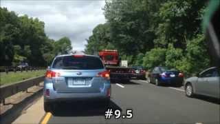 10 Emergency Vehicles 1 Accident