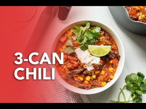 3 Can Chili