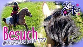 Download Lia & Alfi - Besuch von HeyHorse - Ausritt [FMA] Video