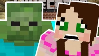 Minecraft: ZOMBIES ARE EVERYWHERE!! (SURVIVE THE ZOMIBE APOCALYPSE!) Mini-Game