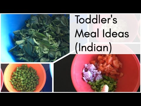 Toddler Meal Ideas | Indian meal planning for baby & toddler