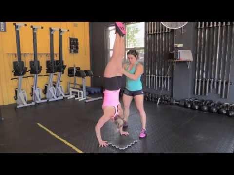Learning Handstand Push-Ups: Gymnastics Tips