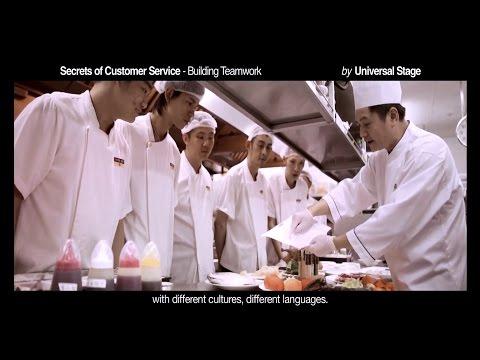 Secrets of Customer Service - Building Teamwork