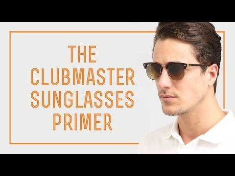 The Clubmaster Sunglasses Primer - Ray Ban vs. Shuron vs. The Rest