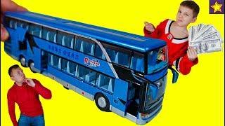 Download Потратили деньги на Автобус из Китая !!! Откуда у Игорюши деньги? Видео для детей Video