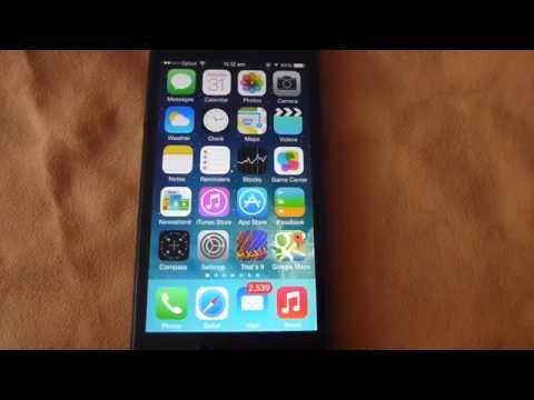 How to turn on Personal Hotspot on iPhone 5 running iOS7