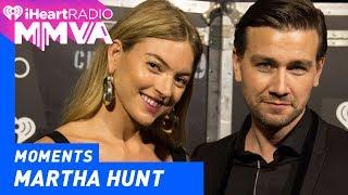 Model Martha Hunt And Reign Actor Torrance Coombs Welcome Iggy Azalea | 2017 iHeartRadio MMVAs