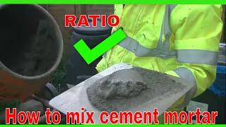 How to mix cement render scratch coat 1st coat undercoat