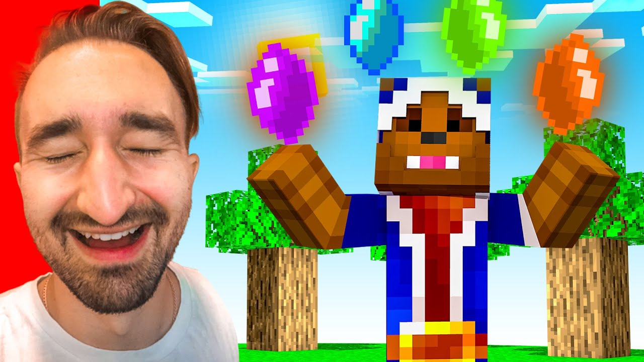 Stealing Gems From Henwy In Camp Minecraft