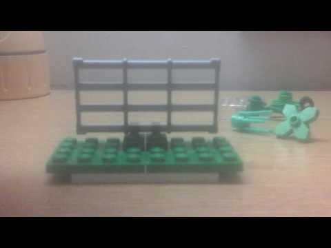 Mini Lego t rex cage tutorial