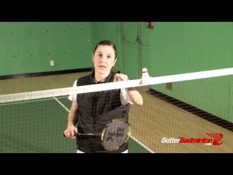 Badminton Champion Secrets - How do I Hit the backhand Net Shot?