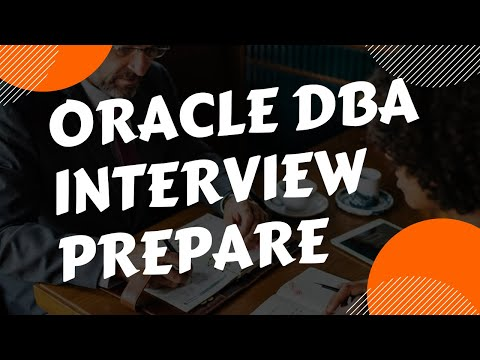 Oracle DBA Interview Prepare