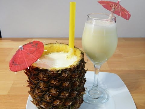 Pina Colada (nonalcoholic recipe)