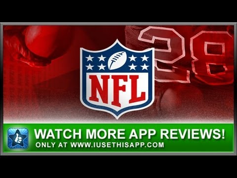 NFL 2012 iPhone App - Sports iPhone App - App Reviews