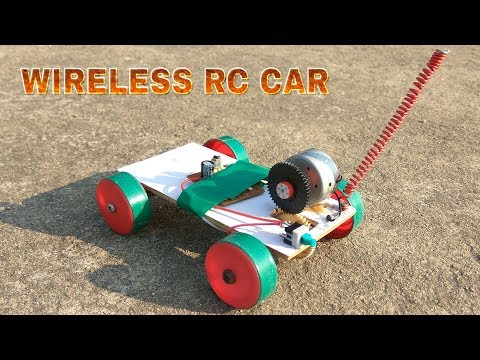 How to make wireless remote controlled Car | RC Car