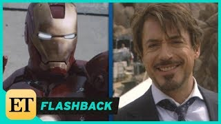 10 Years of Marvel: Robert Downey Jr. on the Set of