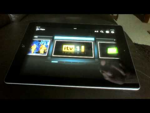 ITV Player app on the new ipad